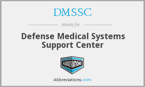 What does DMSSC stand for?