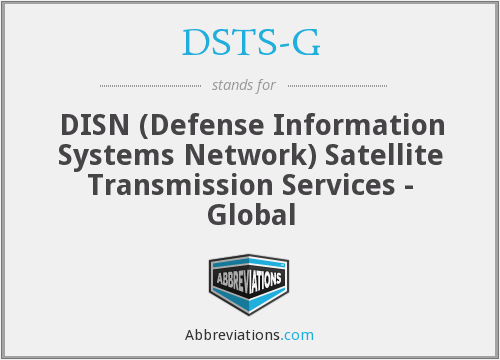 What does DSTS-G stand for?