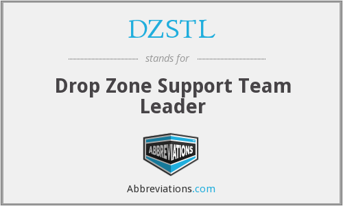 DZSTL - Drop Zone Support Team Leader