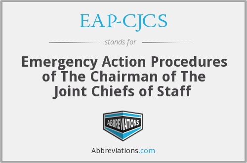 What does EAP-CJCS stand for?