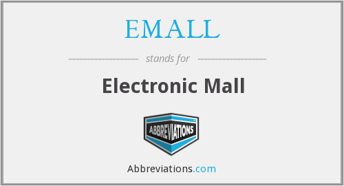 EMALL - Electronic Mall