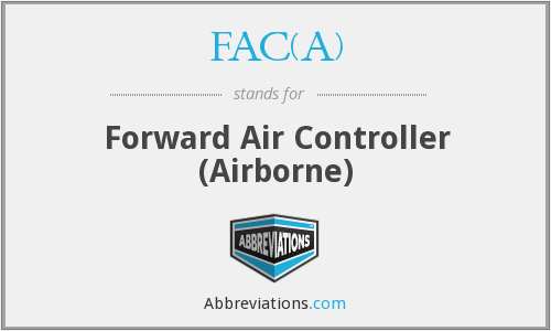 What does FAC(A) stand for?