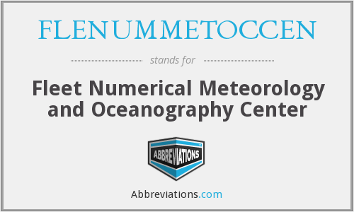 FLENUMMETOCCEN - Fleet Numerical Meteorology and Oceanography Center