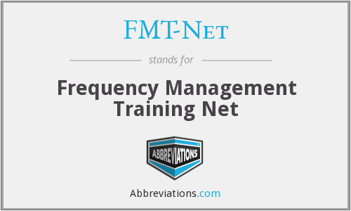What does FMT-NET stand for?