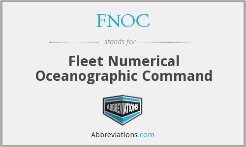 FNOC - Fleet Numerical Oceanographic Command