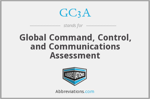 GC3A - Global Command, Control, and Communications Assessment
