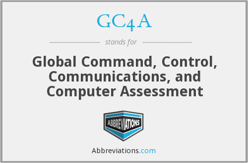 GC4A - Global Command, Control, Communications, and Computer Assessment
