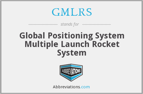 What does GMLRS stand for?