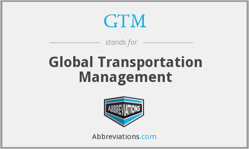 GTM - Global Transportation Management