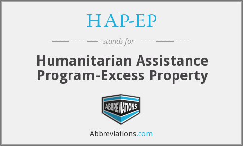 What does HAP-EP stand for?