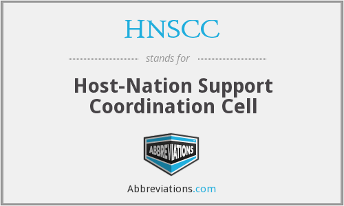 What does HNSCC stand for?