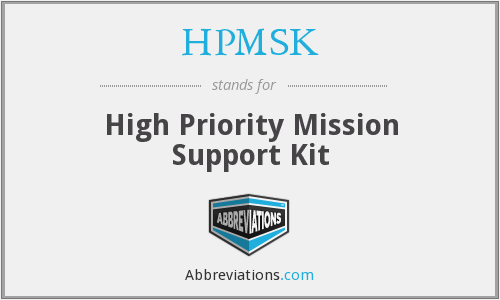 What does HPMSK stand for?
