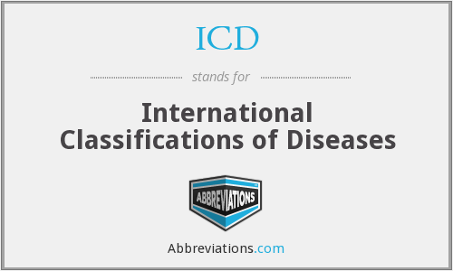 ICD - International Classifications of Diseases