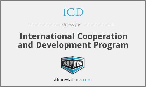 ICD - International Cooperation and Development Program