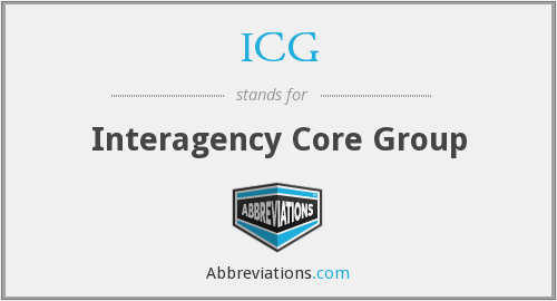 ICG - Interagency Core Group