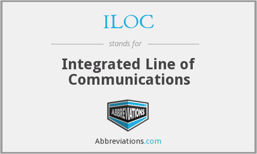 ILOC - Integrated Line of Communications