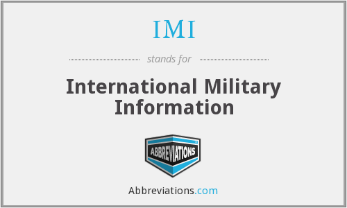 IMI - International Military Information