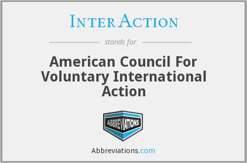 InterAction - American Council For Voluntary International Action