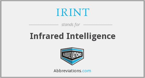 IRINT - Infrared Intelligence
