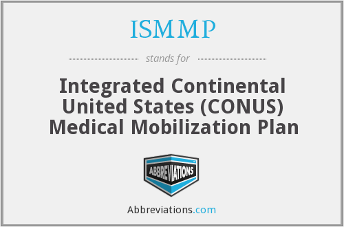 ISMMP - Integrated Continental United States (CONUS) Medical Mobilization Plan