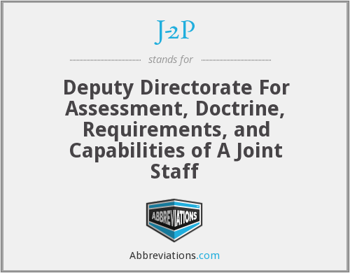 J-2P - Deputy Directorate For Assessment, Doctrine, Requirements, and Capabilities of A Joint Staff