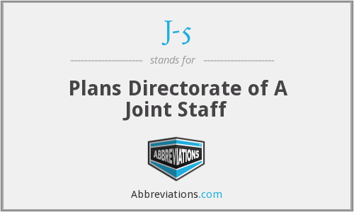 J-5 - Plans Directorate of A Joint Staff