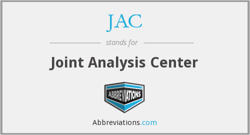 JAC - Joint Analysis Center