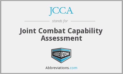 JCCA - Joint Combat Capability Assessment