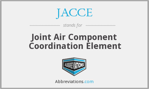 JACCE - Joint Air Component Coordination Element