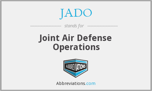 JADO - Joint Air Defense Operations