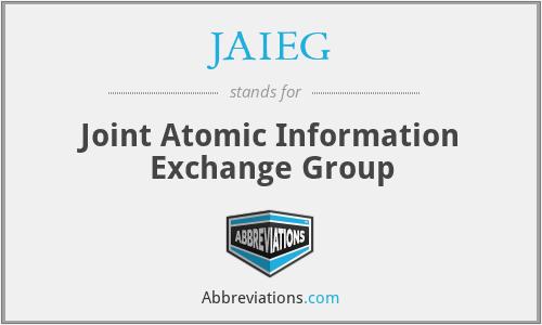 JAIEG - Joint Atomic Information Exchange Group