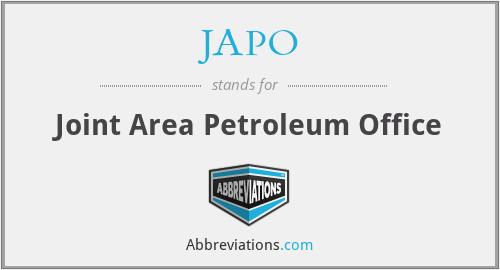 JAPO - Joint Area Petroleum Office