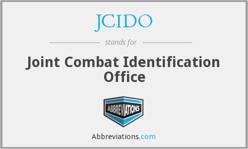 What does JCIDO stand for?