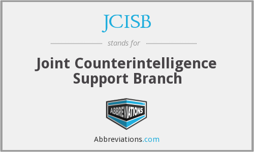 What does JCISB stand for?