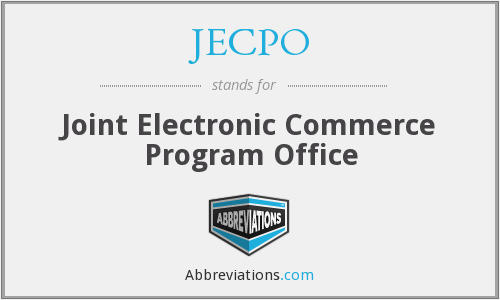 What does JECPO stand for?