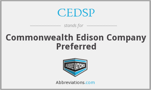 What does CEDSP stand for?