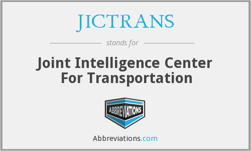 What does JICTRANS stand for?