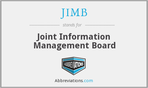 What does JIMB stand for?