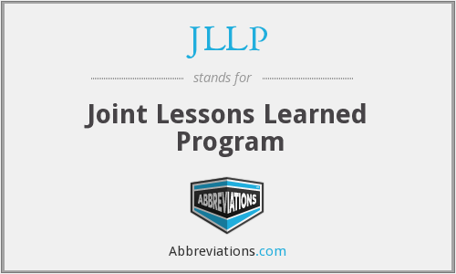JLLP - Joint Lessons Learned Program