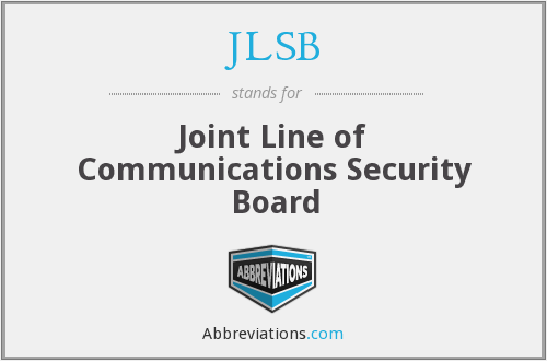 What does JLSB stand for?