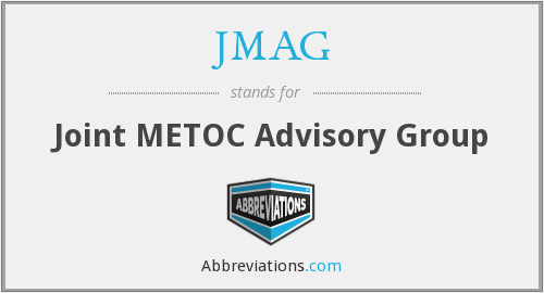 JMAG - Joint METOC Advisory Group