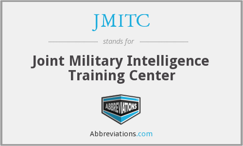 JMITC - Joint Military Intelligence Training Center