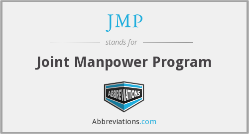 JMP - Joint Manpower Program