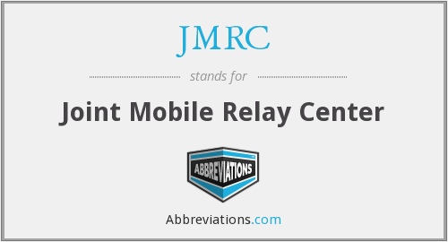 What does JMRC stand for?