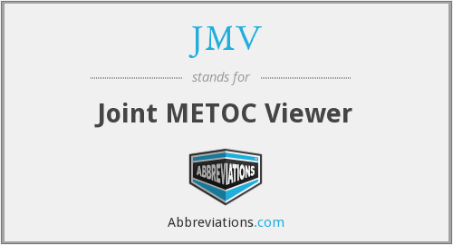 JMV - Joint METOC Viewer