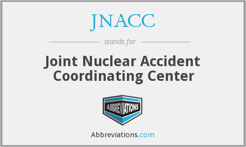 JNACC - Joint Nuclear Accident Coordinating Center