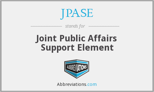 What does JPASE stand for?