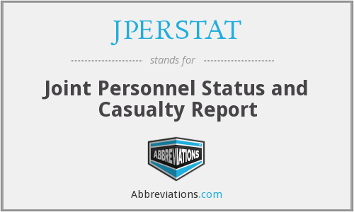 What does JPERSTAT stand for?