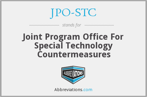 What does JPO-STC stand for?