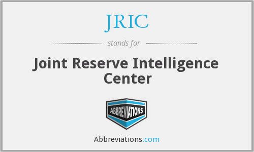 JRIC - Joint Reserve Intelligence Center